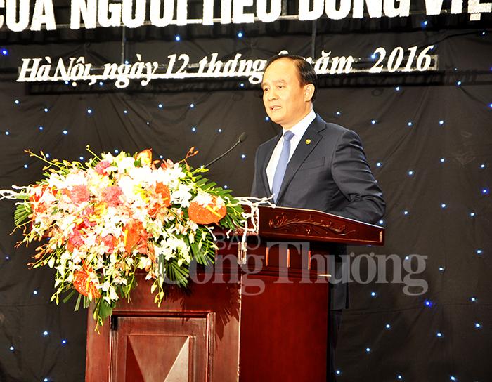 Phó chủ tịch UBND Thành phố Hà Nội Nguyễn Ngọc Tuấn phát biểu tại buổi Lễ