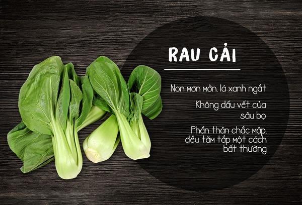 Loại rau cải có đặc điểm này thường được bón nhiều phân đạm nitrat. Bạn không nên sử dụng loại cải này, nhất là ăn sống.