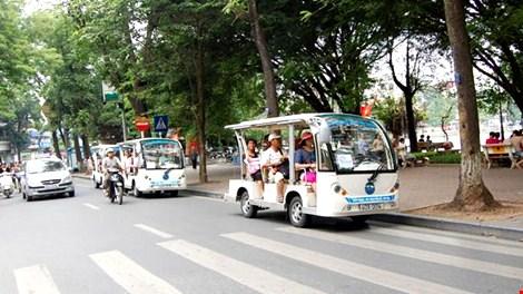 Xe điện phục vụ khách du lịch - Ảnh minh họa